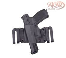 Ruger SR40 & Similar Frames - Akar Scorpion OWB Kydex Gun Holster W/Quick Belt Clips