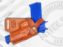 Smith & Wesson Model 4506 SOB Small Of the Back Leather Holster