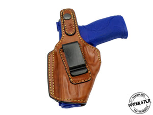 Smith & Wesson M&P .40 IWB / MOB Middle Of the Back Leather Holster
