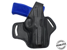 Ruger SR9 OWB Thumb Break Leather Belt Holster