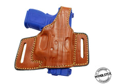 Springfield XD 40 Subcompact OWB Pancake Style Thumb Break Belt Leather Holster