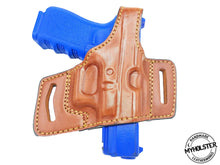 Kahr MK40  Right Hand Slide Thumb Break Leather Holster