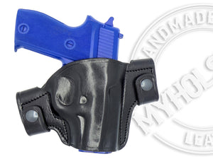 SIG Sauer P225 OWB Snap-on Right Hand Leather Holster