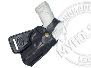 Springfield Armory XD 4 Full Size Model .357SIG SOB Small Of the Back Holster - Pick your Color and Hand