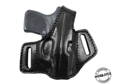 Load image into Gallery viewer, Ruger LCP OWB Thumb Break Compact Style Right Hand Leather Holster