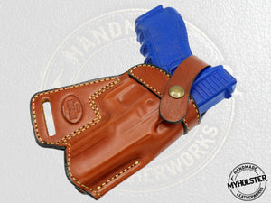 Walther PPQ SOB Small Of the Back Leather Holster