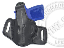 Sig Sauer P290 OWB Thumb Break Leather Belt Holster - CHOOSE YOUR COLOR AND HAND