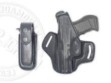 FN 509 Midsize OWB Thumb Break Leather Belt Holster