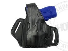 OWB Thumb Break Leather Belt Holster Fits Glock 26/27/33