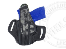 Load image into Gallery viewer, Walther PK380 OWB Thumb Break Leather Belt Holster