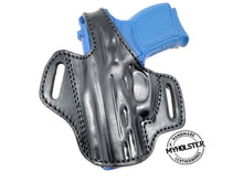 Load image into Gallery viewer, SCCY CPX-1 , CPX-2 OWB Thumb Break Leather Belt Holster - Choose Your Hand and Color