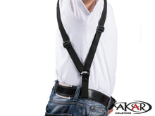 Akar, Vertical Shoulder Nylon Shoulder Holster for Small Frames