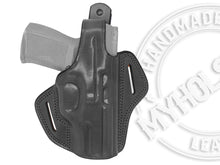 Load image into Gallery viewer, CANIK TP9 OWB Thumb Break Leather Belt Holster