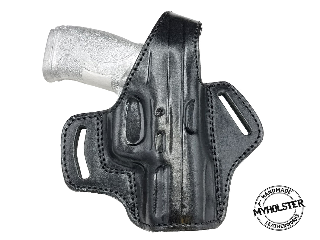 RUGER AMERICAN COMPACT 40 OWB Thumb Break Right Hand Leather Belt Holster