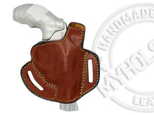 Smith & Wesson Model 60 OWB Thumb Break Right Hand Leather Belt Holster