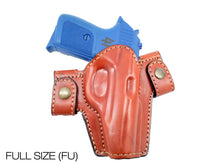 OWB Snap-on Leather Belt  Holster Fits Beretta PX4 Storm Subcompact