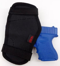 Load image into Gallery viewer, Black Nylon Open Top Belt Holster Molded Best Fit TAURUS MILIENNIUM PRO 140