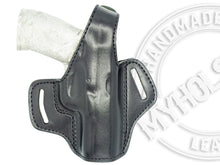 "S&W M&P M2.0 .40S&W 4.25"" OWB Thumb Break Leather Belt Holster"