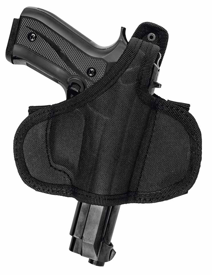 Akar OWB Nylon Gun Holster with Thumb Break Fits Ruger SR9