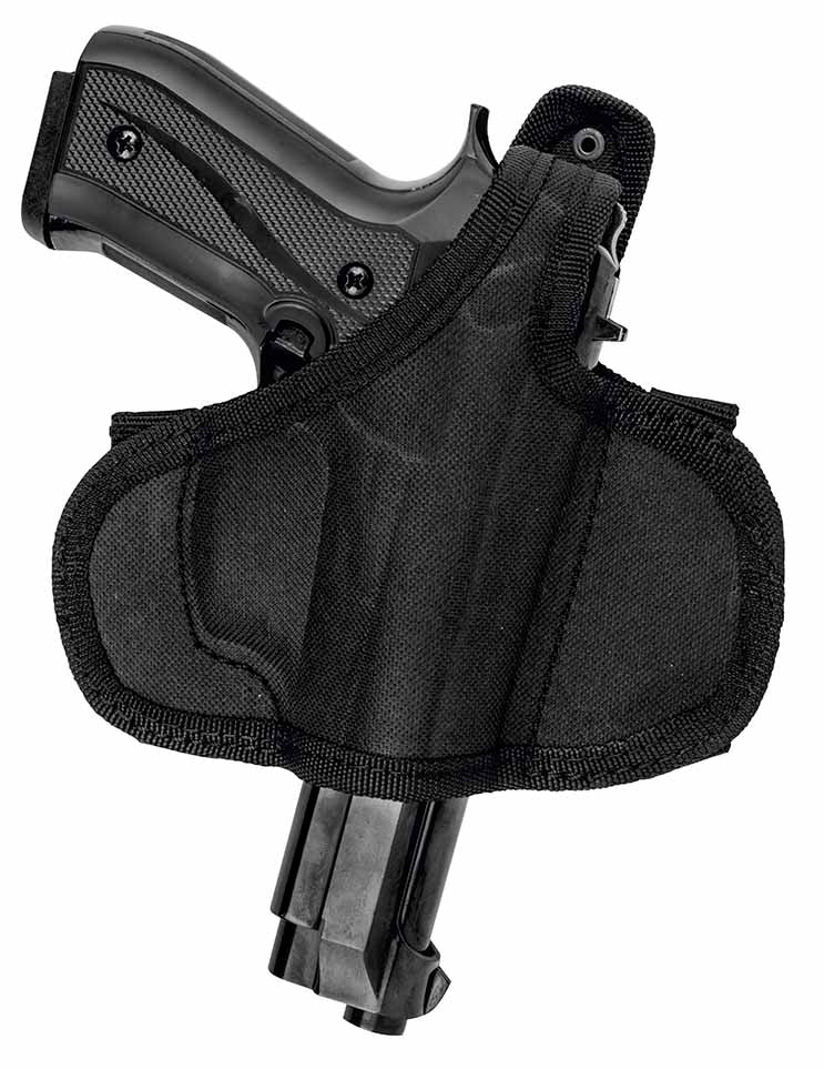 Akar OWB Nylon Gun Holster with Thumb Break Fits Smith & Wesson M&P 9, M2.0