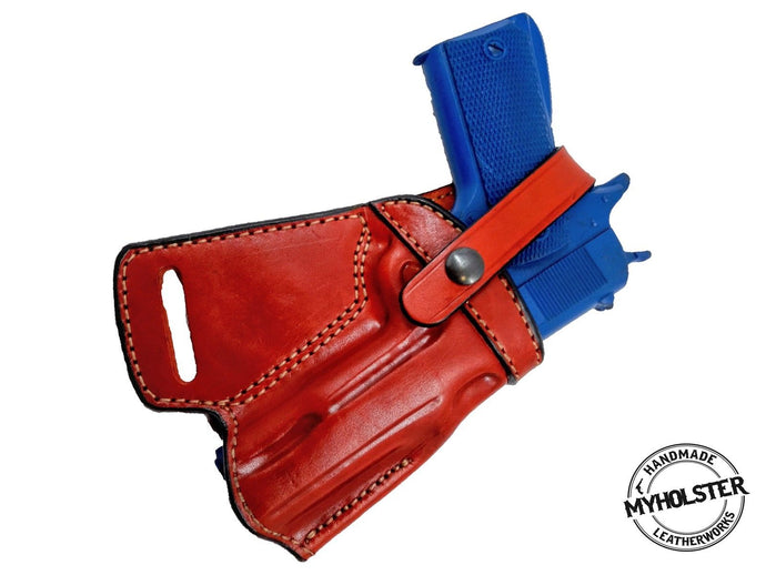 Glock 17/22/31 SOB Small Of the Back Leather Holster
