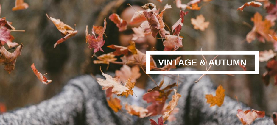 Autumn looks with vintage inspired jewelry