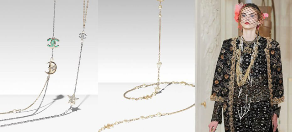 Extravagant modern necklaces