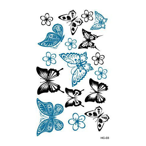 Bunch of Fun Tattoos Butterfly