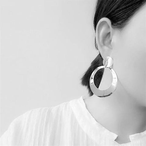 Big Bold Hoop Earrings