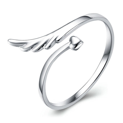 Angel Love Ring - side view