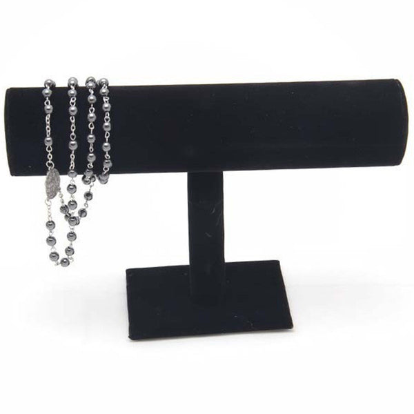 Velvet Bracelet Rack Display Black