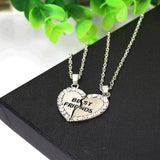 Charm Best Friends Pendant Necklace