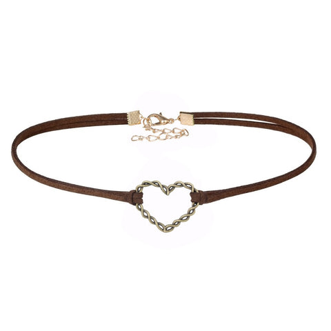 Iron Heart Choker Necklace