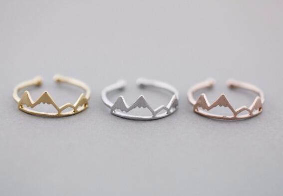 Mountain Top Ring - all three