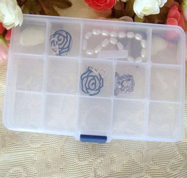 Transparent Jewelry Container Box