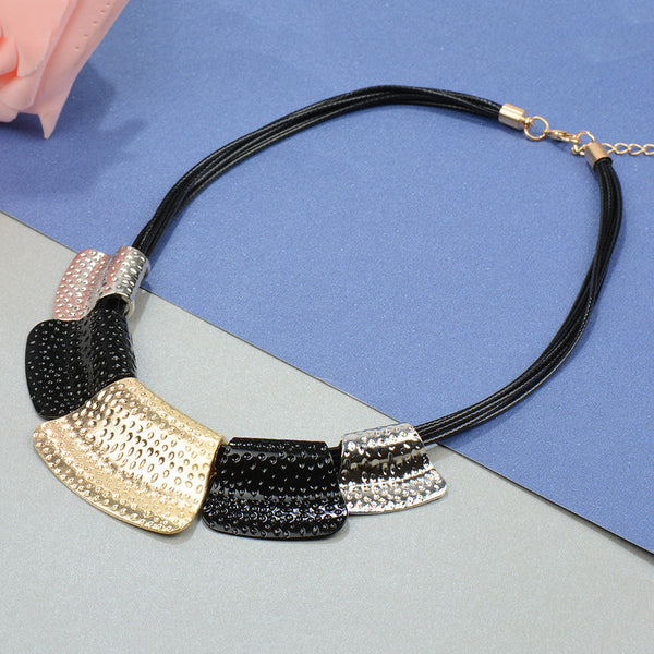 Modern Plated Luxury Choker