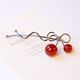 Sweet Cherry Pin Black