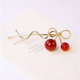Sweet Cherry Pin Gold