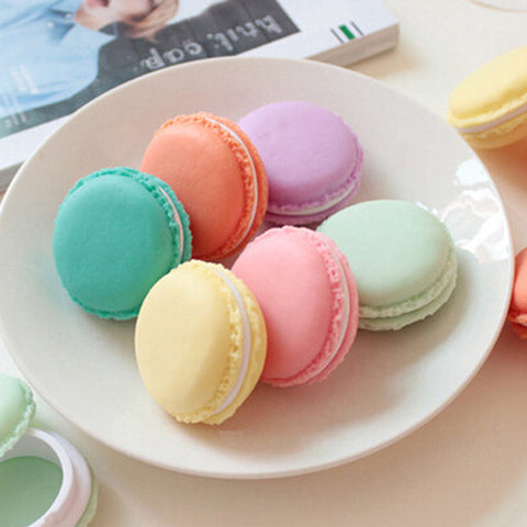 Macaroon Cookie Box Blue Green
