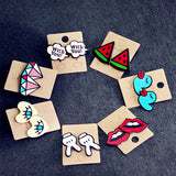 Cartoon Design Earrings