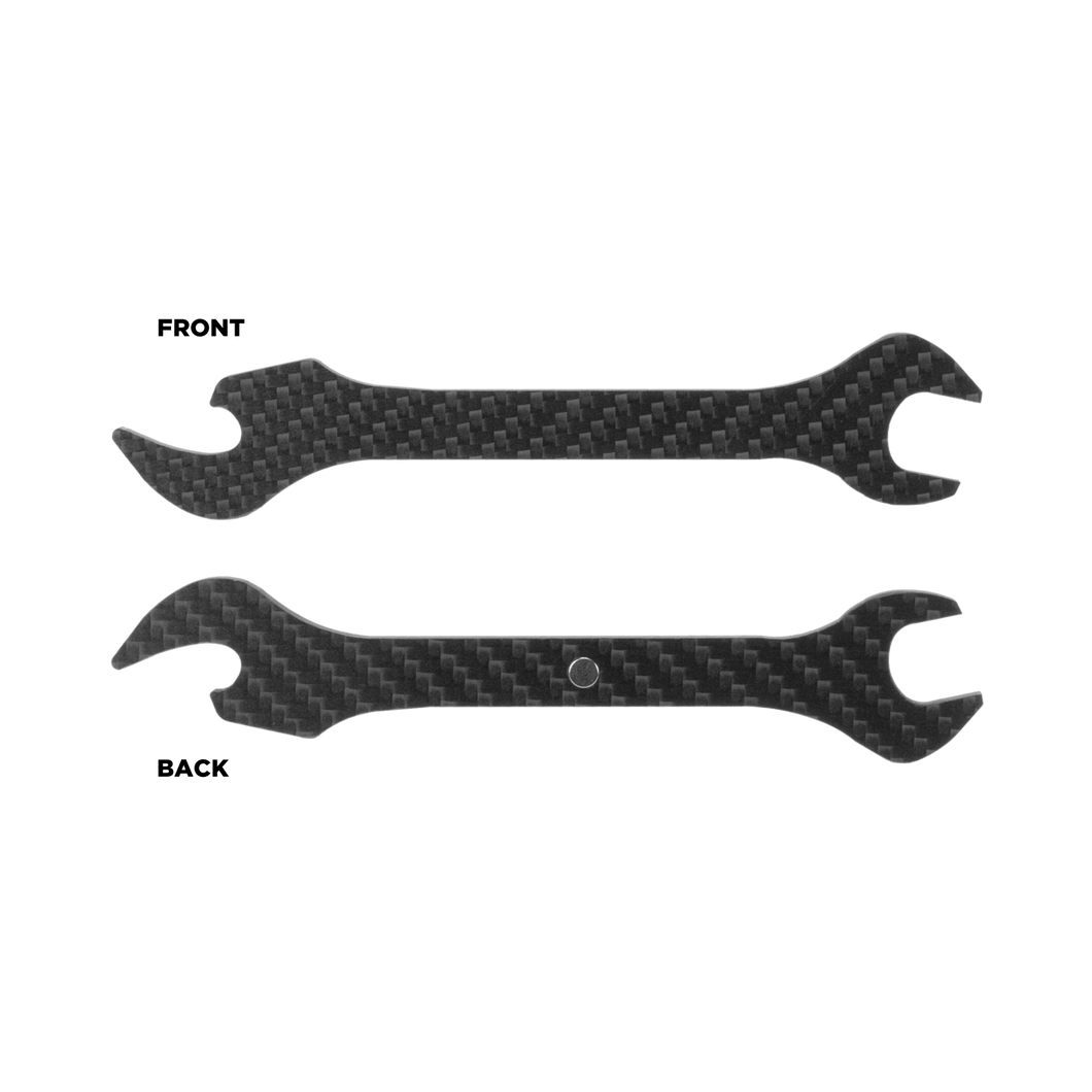 Carbon Fiber Bottle Opener Wrench