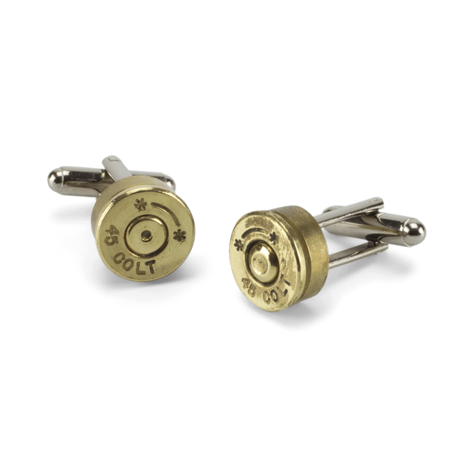 Reclaimed Bullet Shell Cufflinks