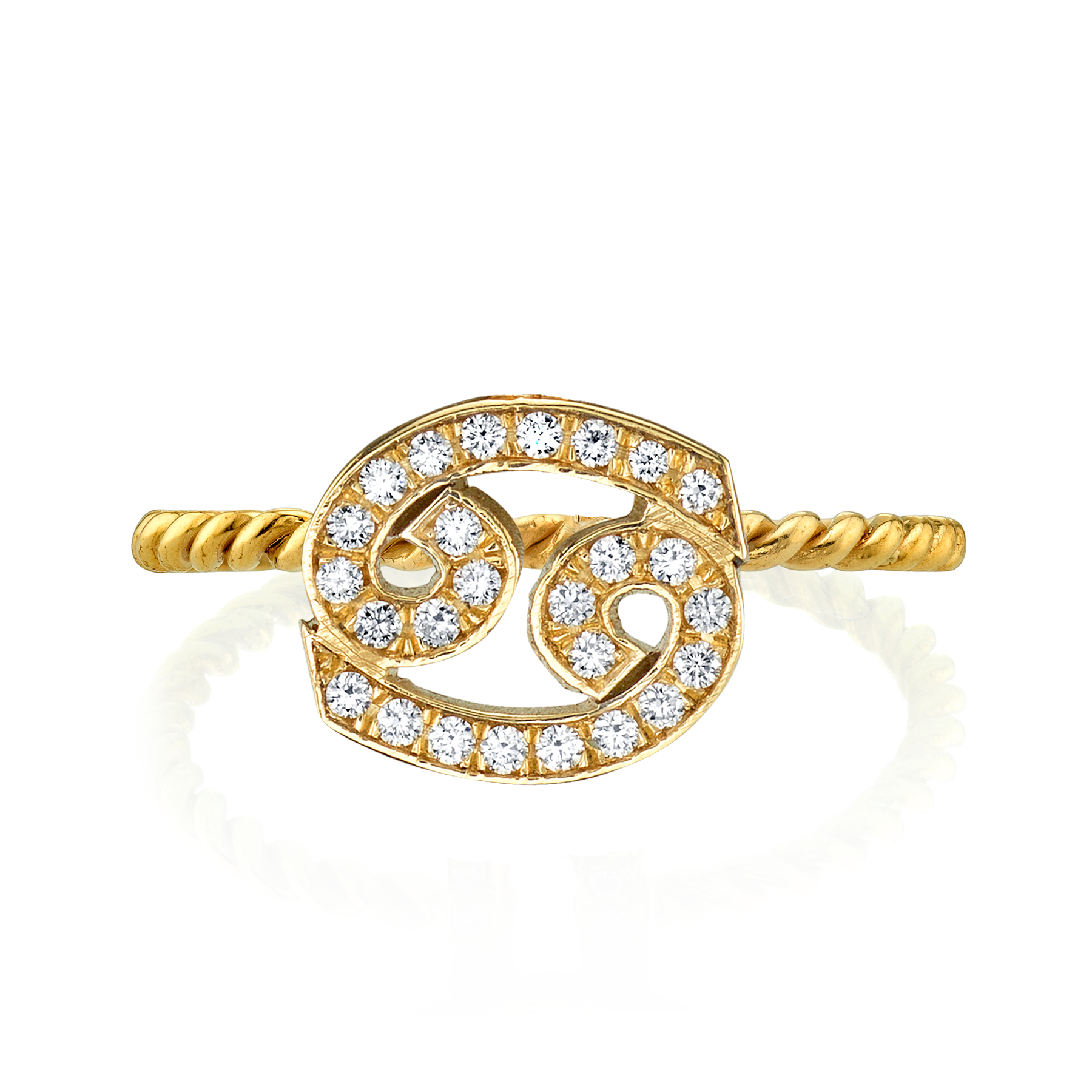 DIAMOND ZODIAC RING