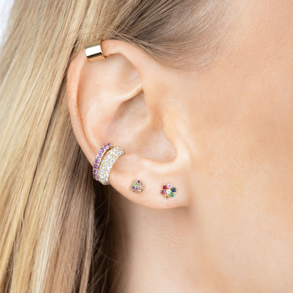 PERFECT TANZANITE EAR CUFF