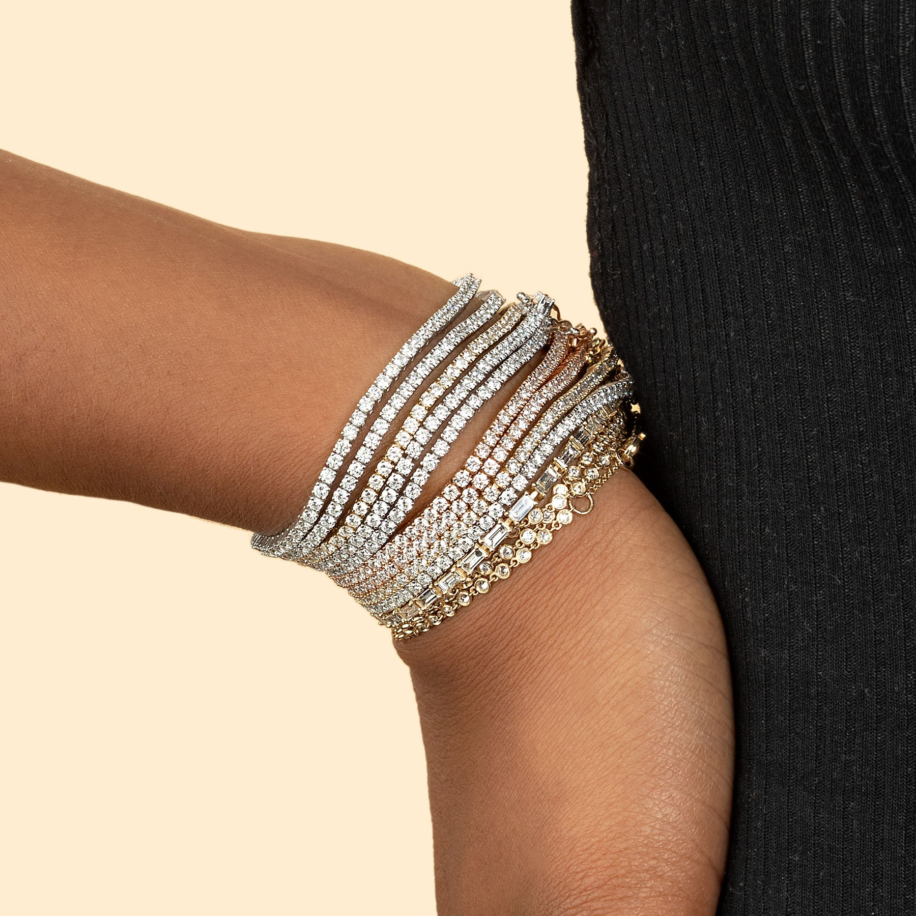 PERFECT DIAMOND TENNIS BRACELET