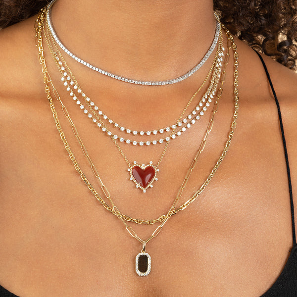 DIAMOND FLOATING NECKLACE