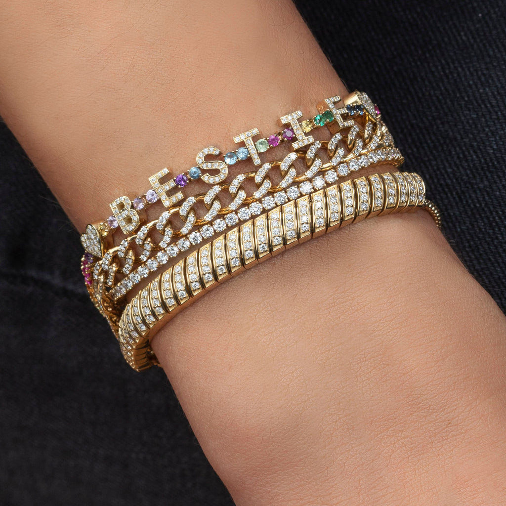 DIAMOND ULTIMATE SNAKE LINK BRACELET