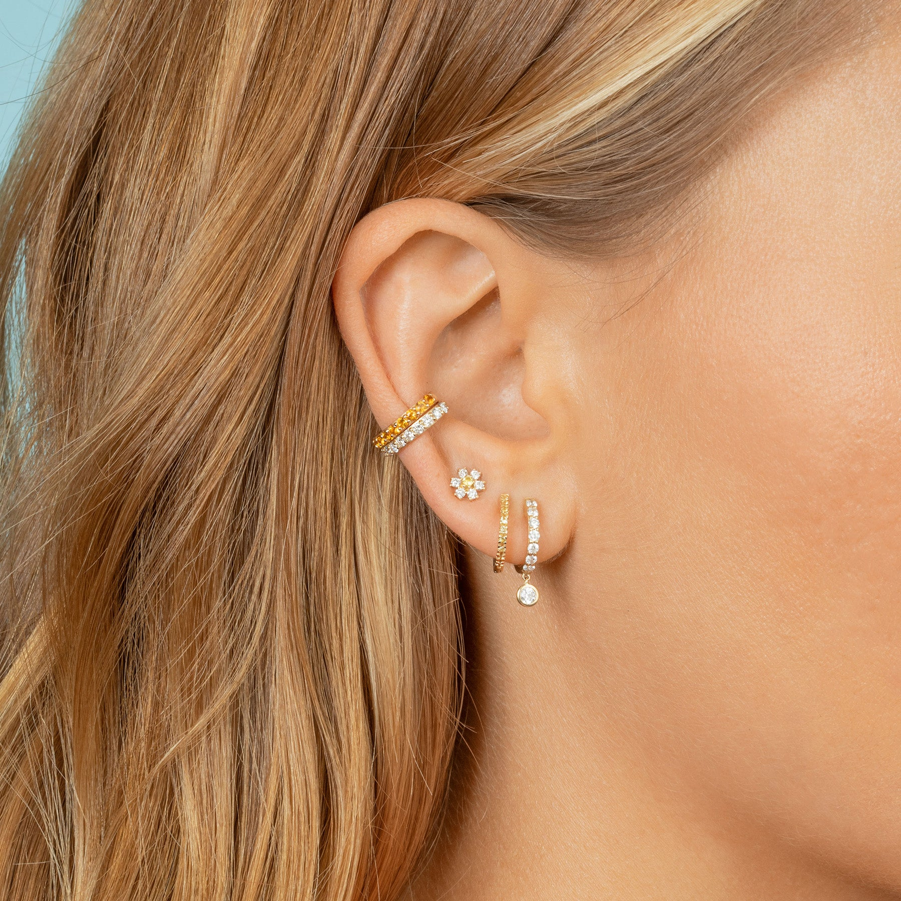 PERFECT CITRINE EAR CUFF