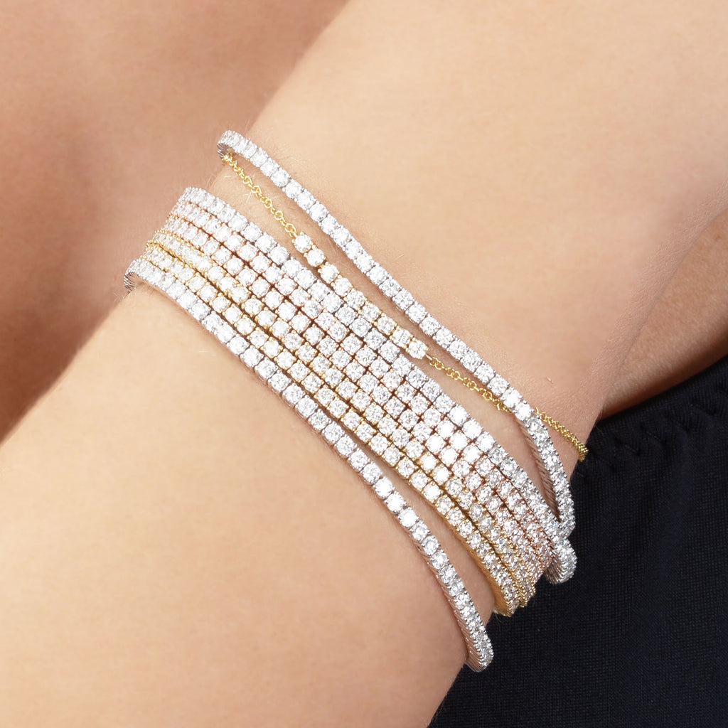DIAMOND MINI TENNIS BRACELET