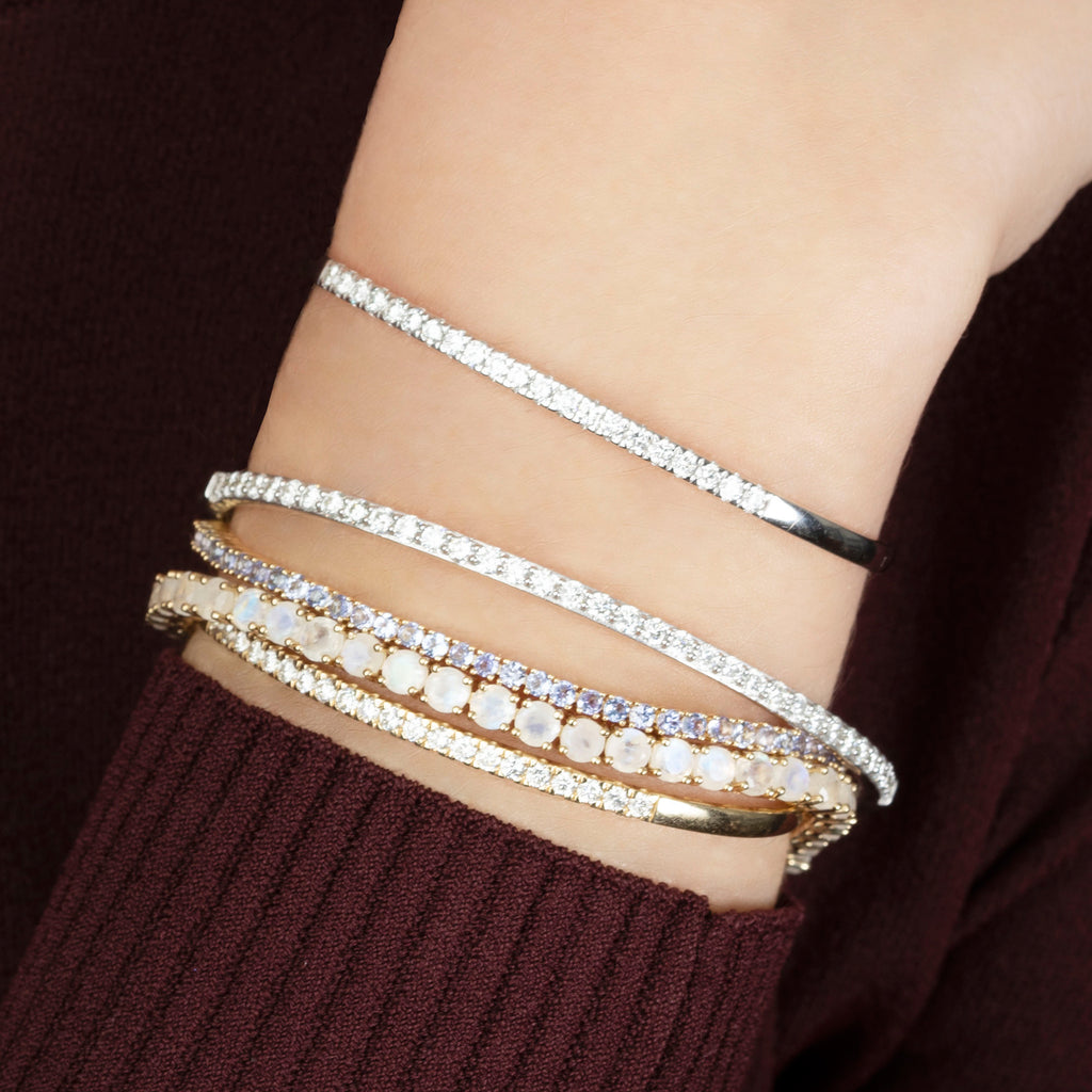 MOONSTONE PERFECT TENNIS BRACELET